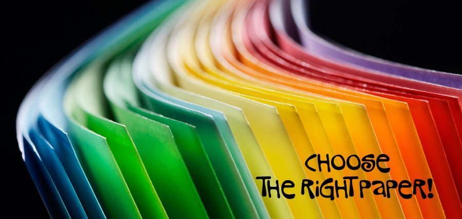 guide to choosing the right paper for printing